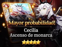 ¡Mayor probabilidad: Cecilia y Ascenso de monarca!