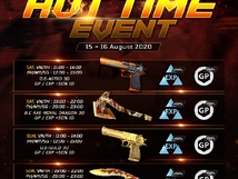 Hot Time Event - August 15-16, 2020