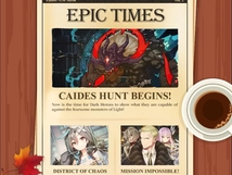 Epic Times: Caides Hunt Begins!