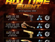 Hot Time Event - Sep 12 - 13, 2020