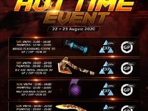 Hot Time Event - August 22-23, 2020