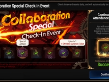 Collaboration Special Check-In Event