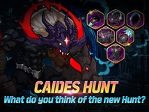 Caides Hunt Discussion