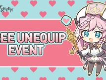 Free Unequip and Buff Event