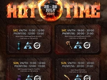 Hot Time Event - July 25-26