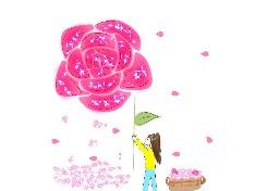 꽃그림그리기 3