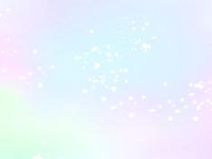 파스텔 빛의 하늘